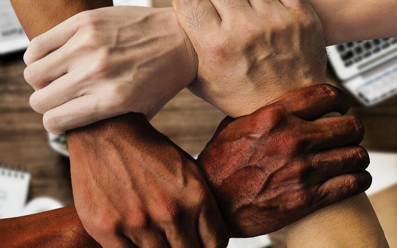 Hände Team Zusammenhalt