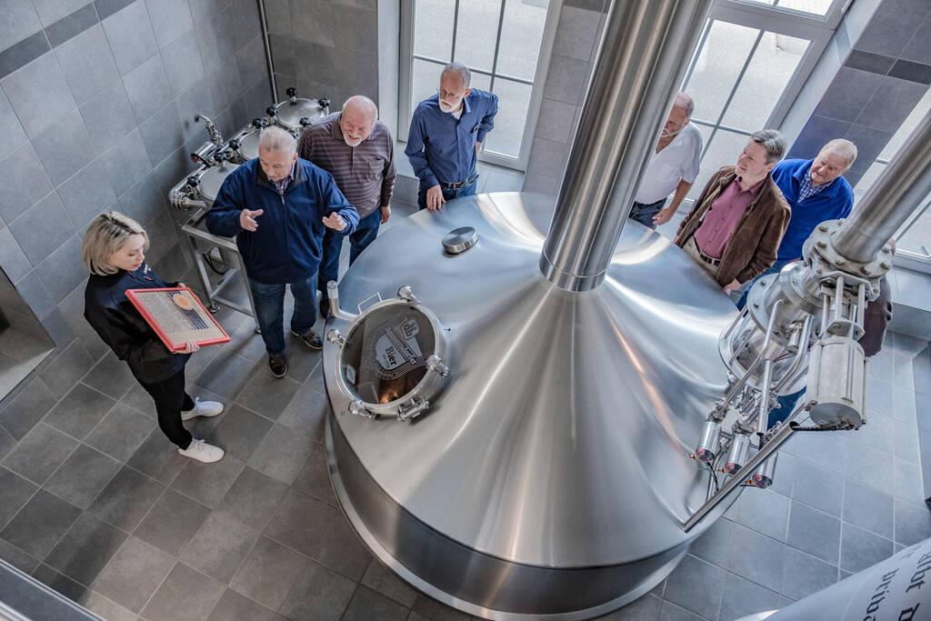 Fotoshooting Ammerndrofer Brauerei Führung