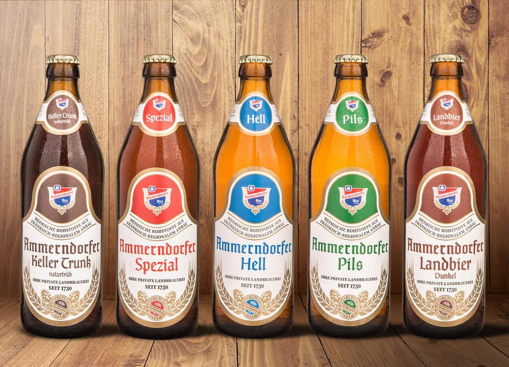 Ammerndorfer Bier Etiketten