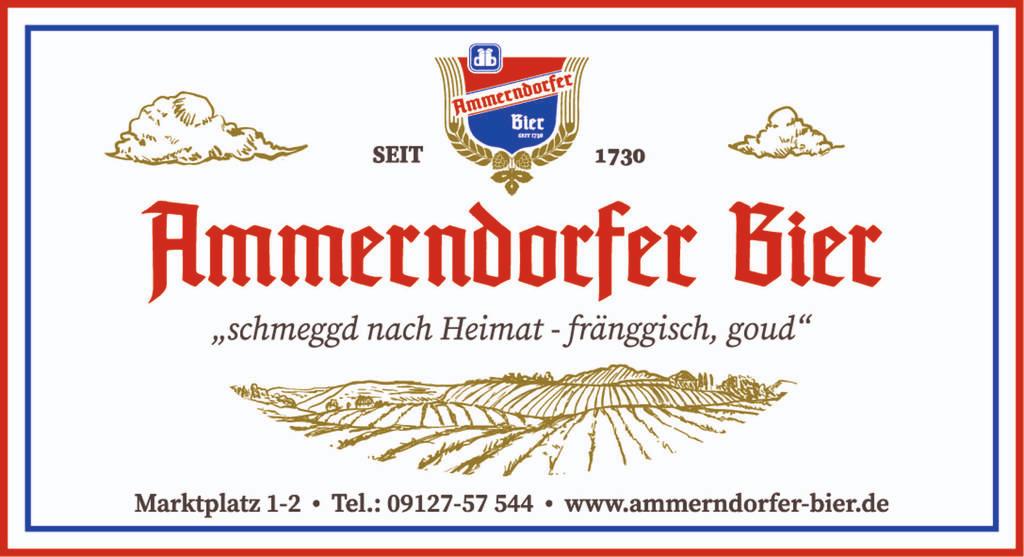 Heimat und Tradition in Ammerndorfer Bier Anzeige