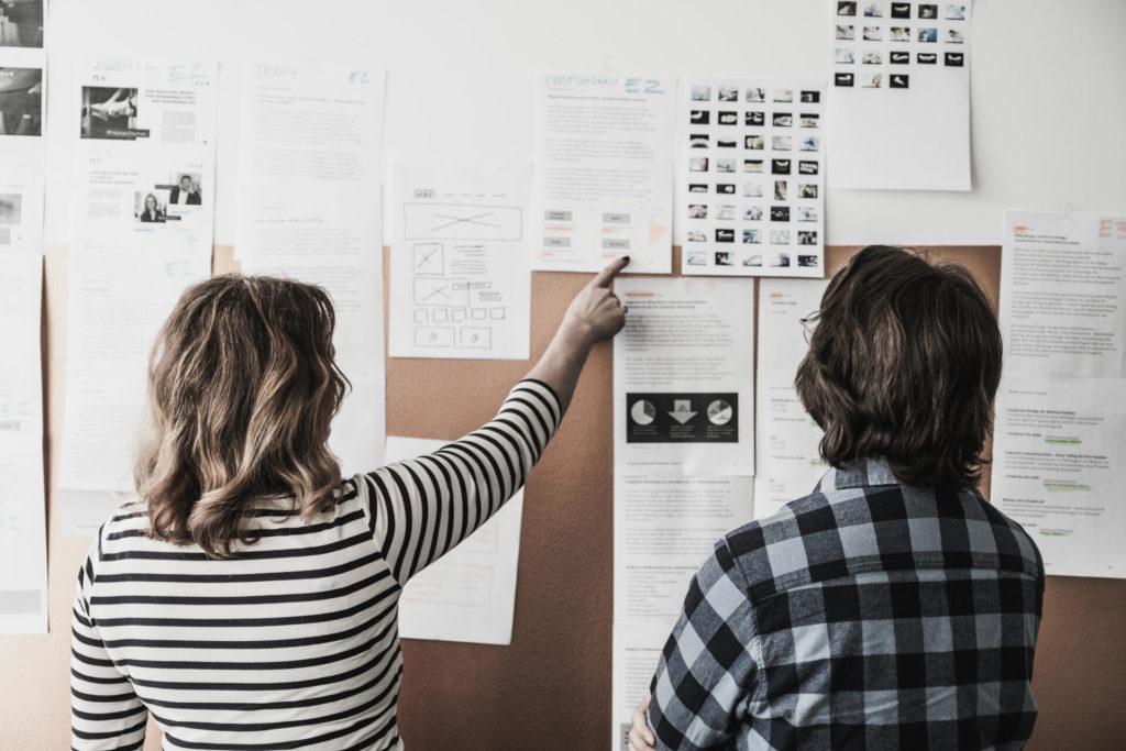Briefing für ein UX-Design von BESONDERS SEIN