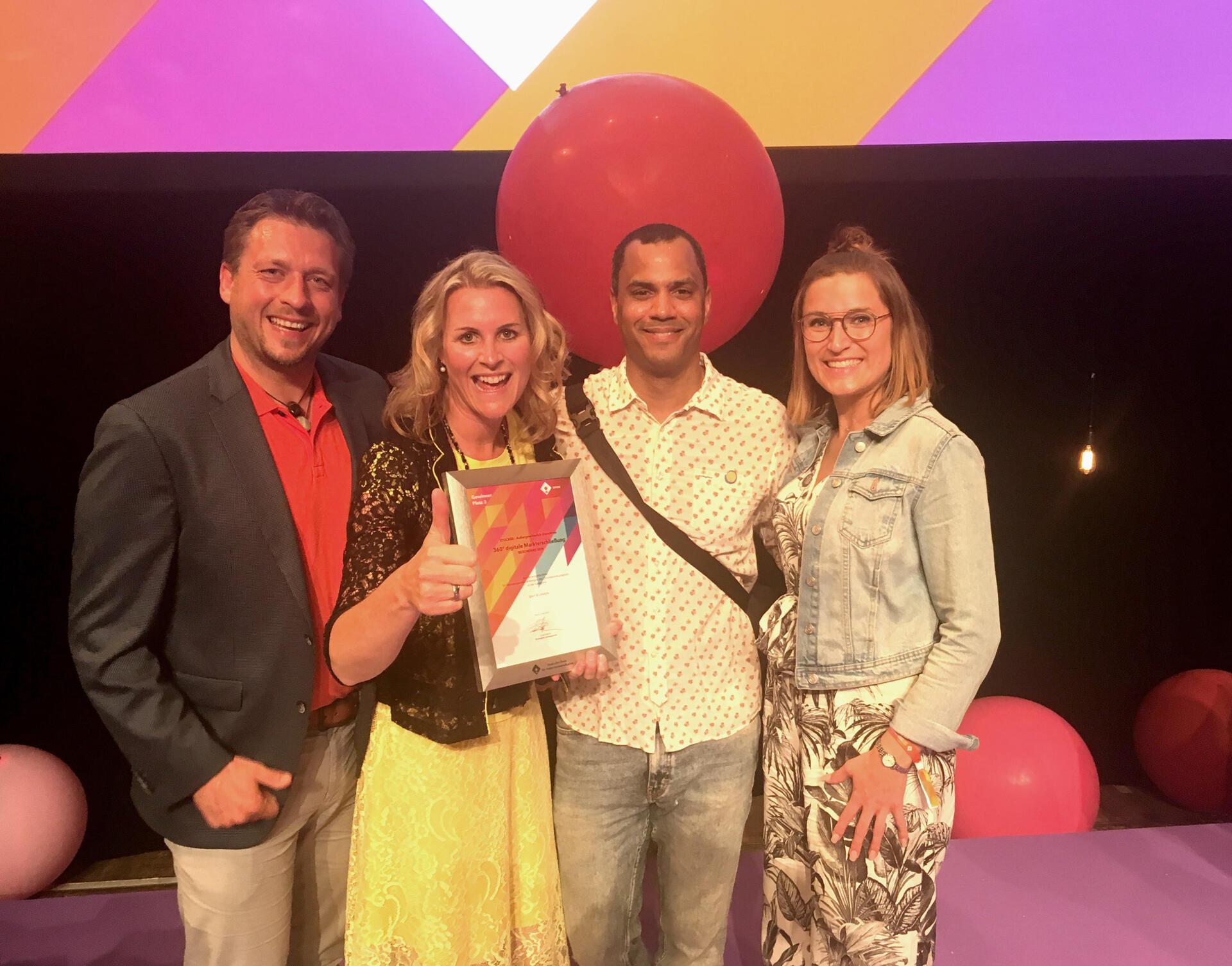 BESONDERS SEIN wird mit dem Deutschen Preis für Onlinekommunikation ausgezeichnet