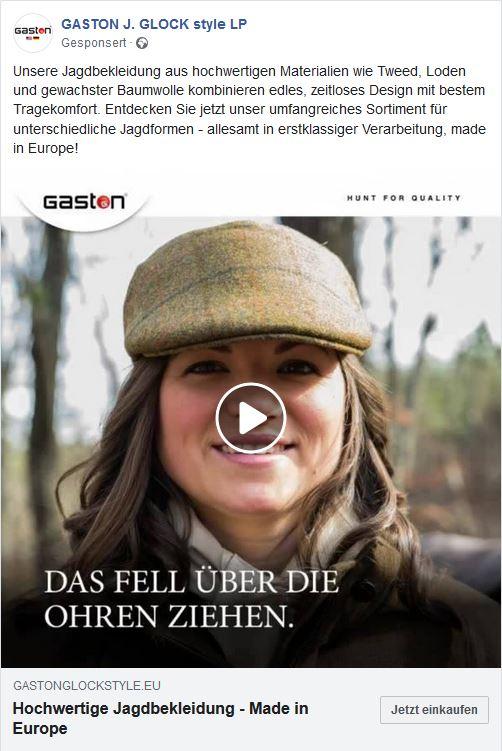 GASTON_Jagdkleidung Kappe_Screenshot dekstop