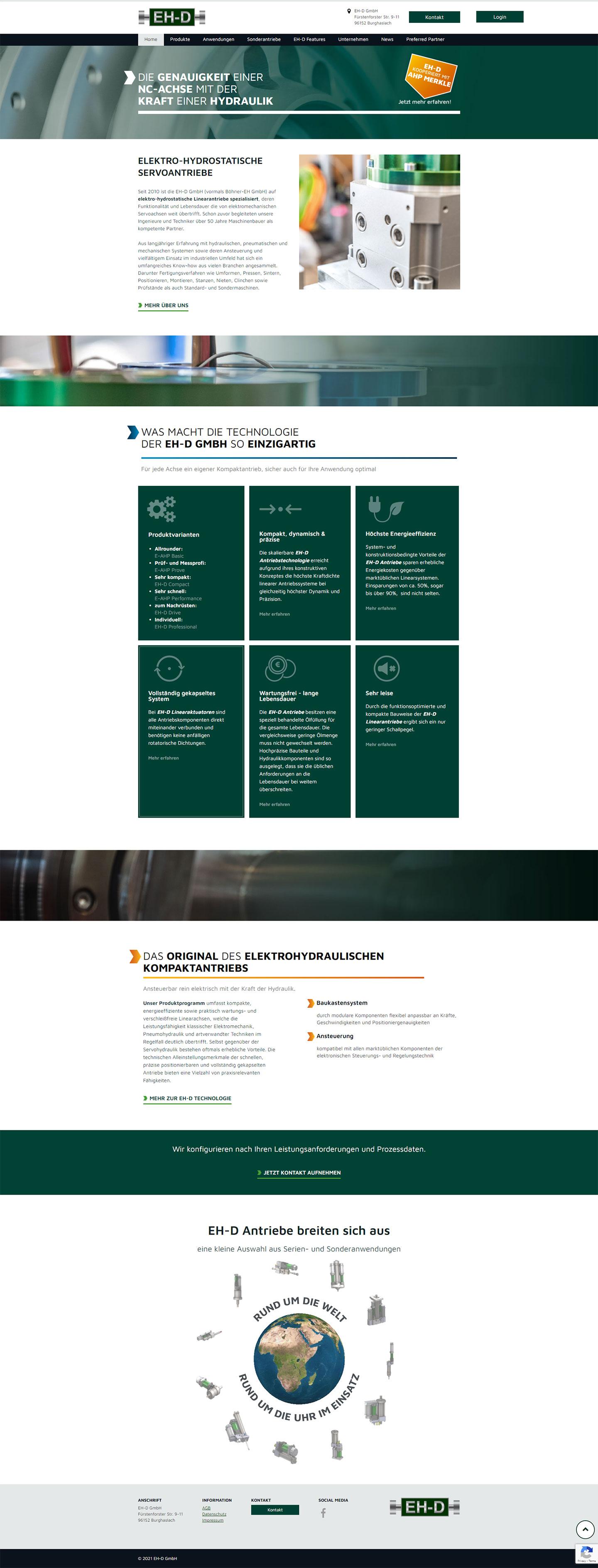 ehd responsive webdesign mobile