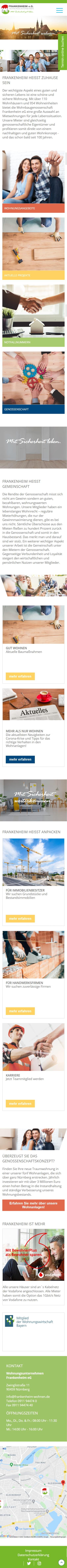 frankenheim-mobile-webdesign