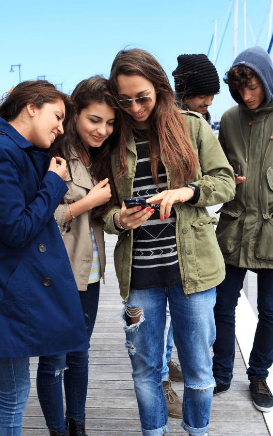 Instagram hat eher eine junge Zielgruppe