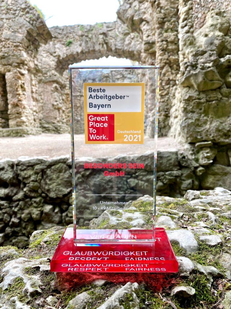 """Beste Arbeitgeber Bayern"" Award"