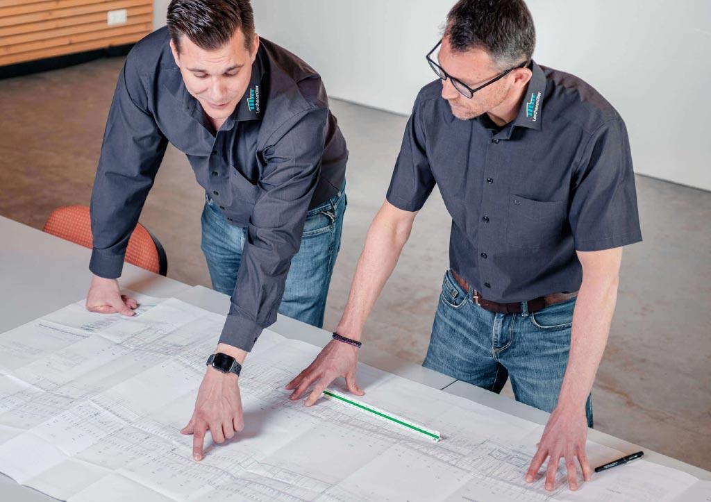 Planung und Service