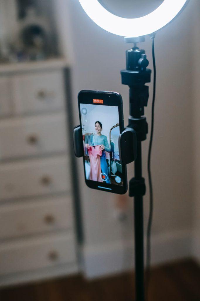 Equipment für das Videomarketing